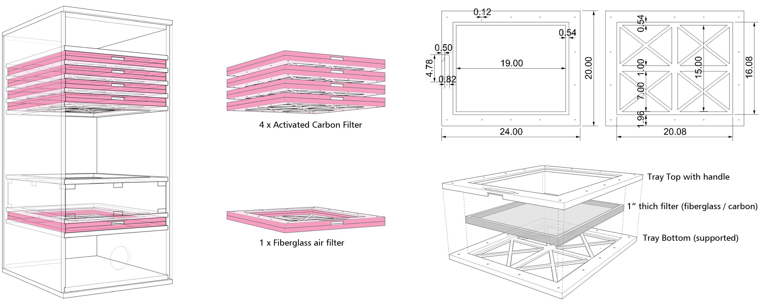 DIY Laser Air Filter - Laser Cutting
