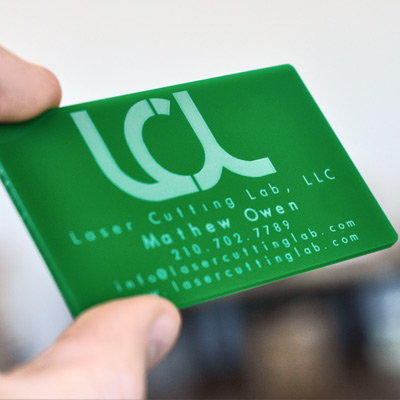 laser-engraved-green-acrylic-business-card
