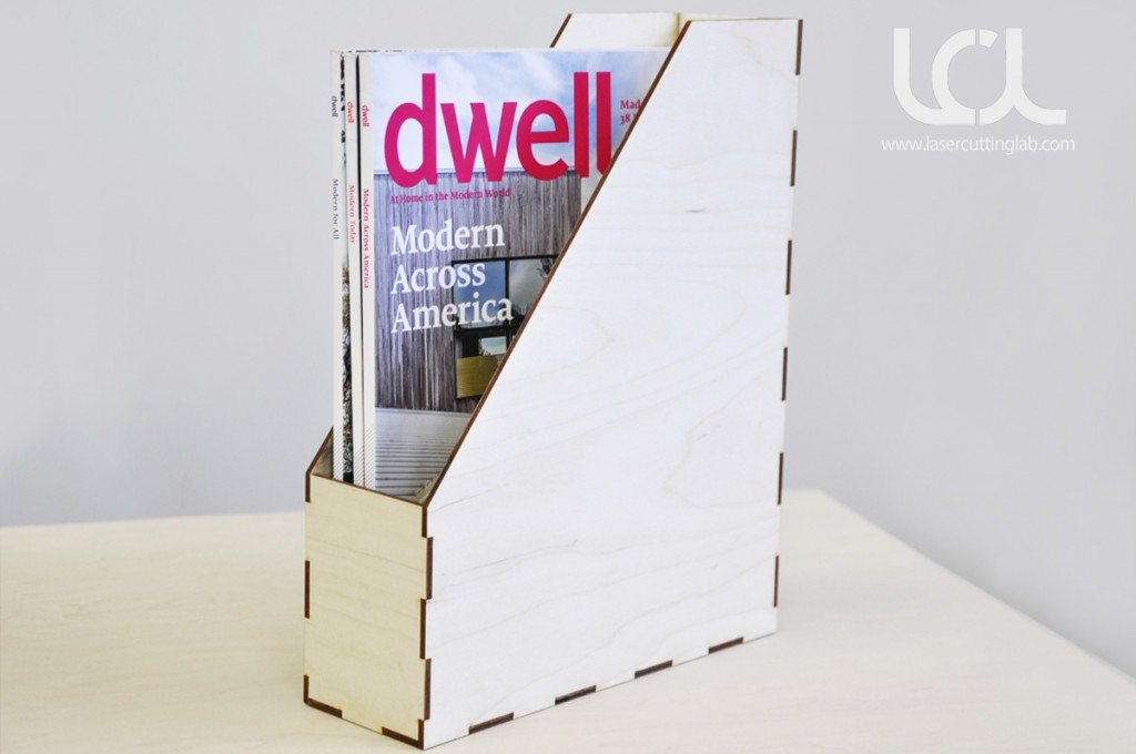 Laser Cut Magazine Holder