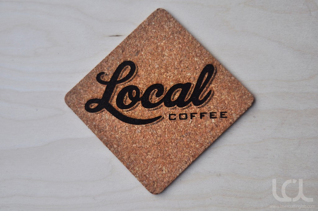 Custom Laser Engraved Coasters Cork Laser Cutting Lab Llc