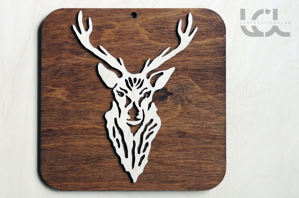 Deer-decoration-sign