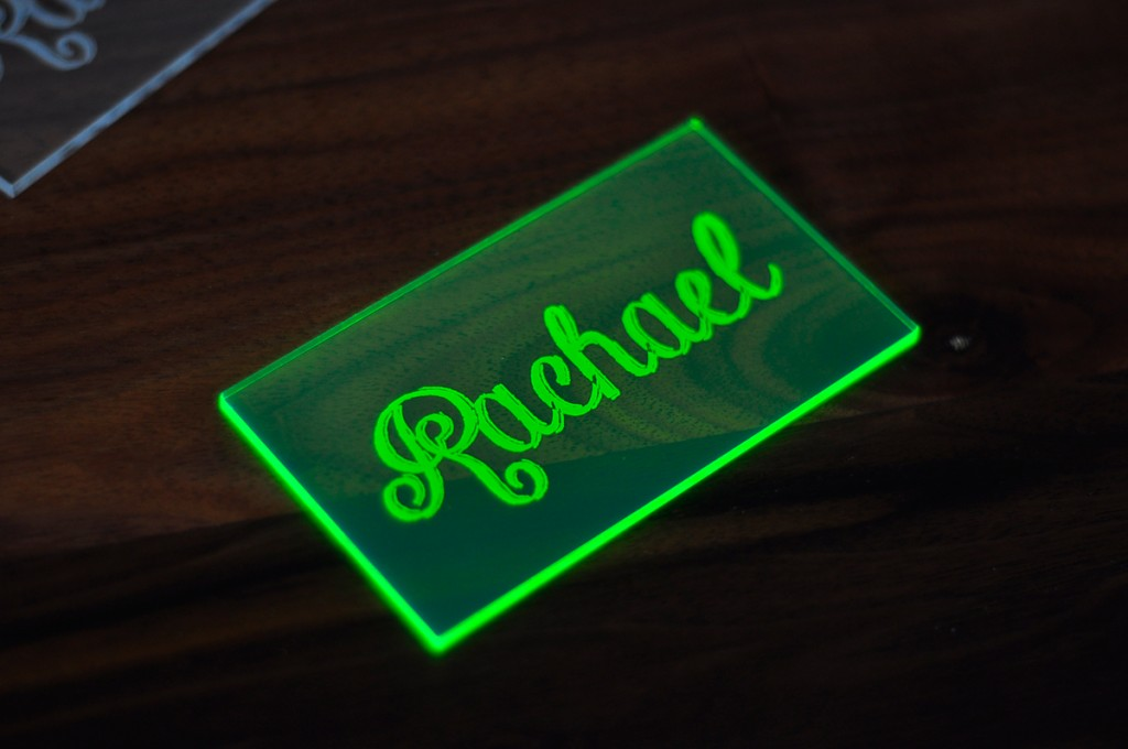neon-green-acrylic-place-card