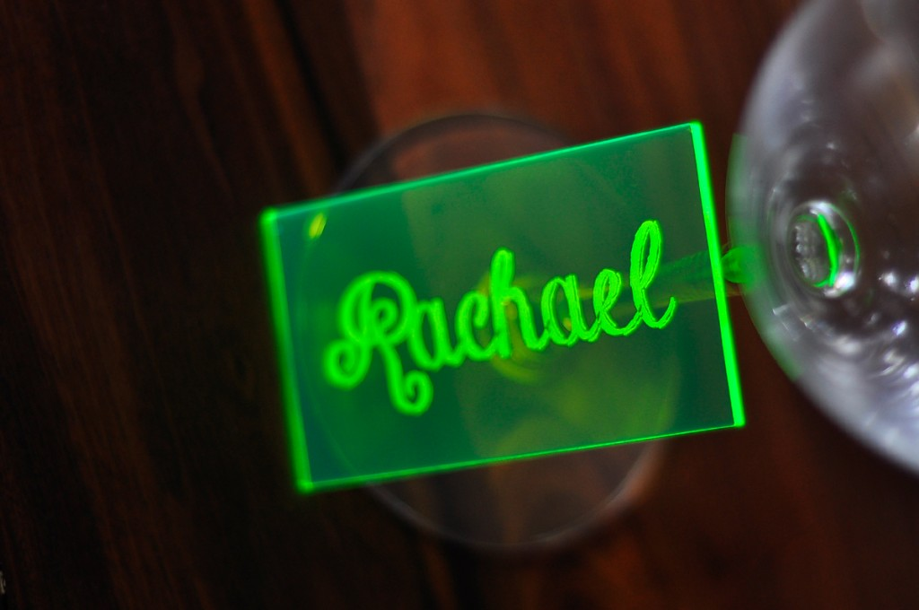neon-green-acrylic-place-card-standing