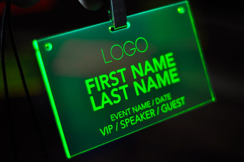 laser-engraved-green-conference-badges-002