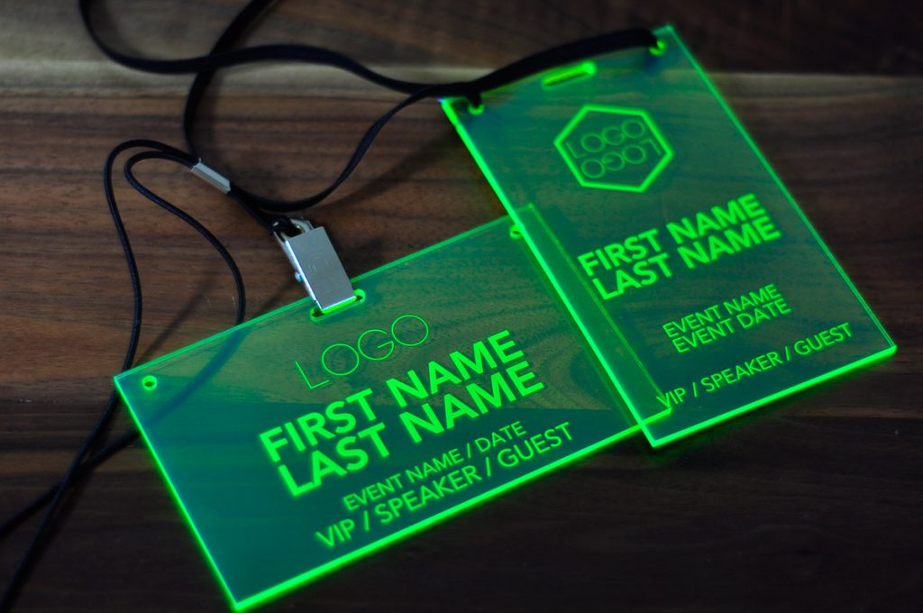 laser-engraved-green-conference-badges-010